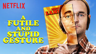 Netflix box art for A Futile and Stupid Gesture